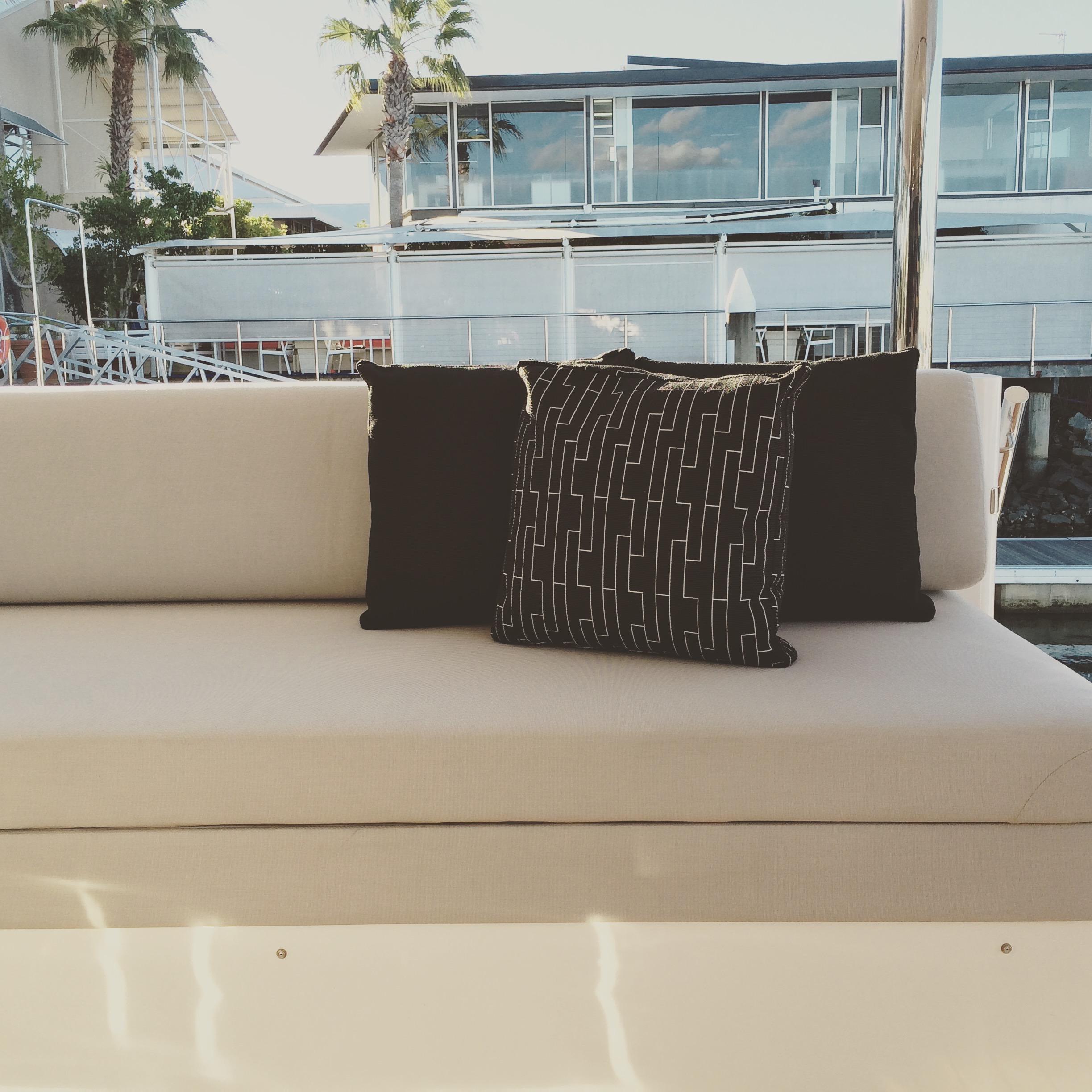 Outdoor cushioning Unique fabrics