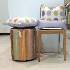 South Pacific Chair & Homme Cushions