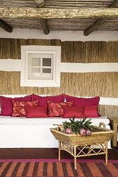 Bedroom design with Elitis cushions