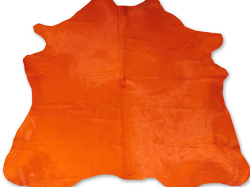 COLOURED HIDE (ORANGE)