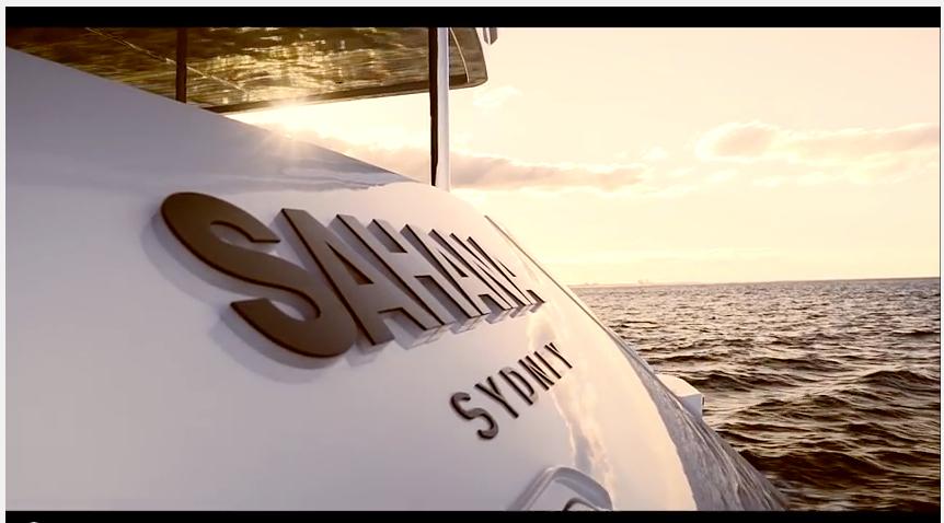 Luxury Yacht Sahana