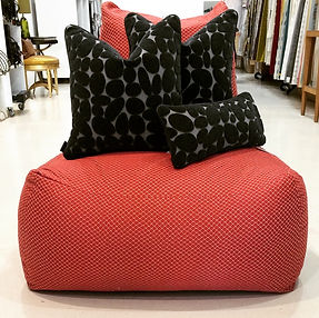 Jean paul Gautier Bean Bag & Rubelli scatter cushions