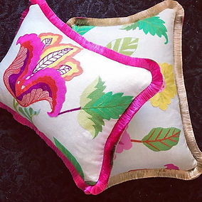 Dominique Kieffer scatter cushions