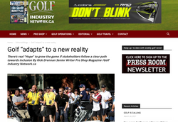 Todd Keirstead Golf Industry News