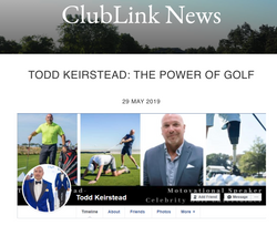 Todd Keirstead Clublink News