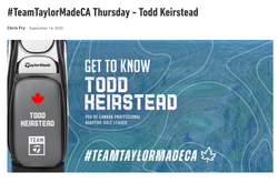TaylorMade Thursday Todd Keirstead
