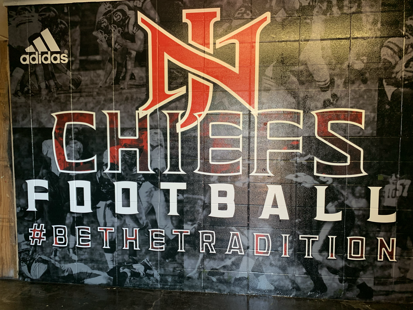 Field House Entry Wall