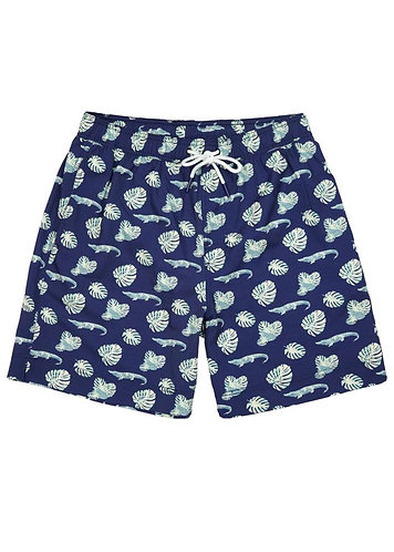 Boys Gator Palm Swim Trunks