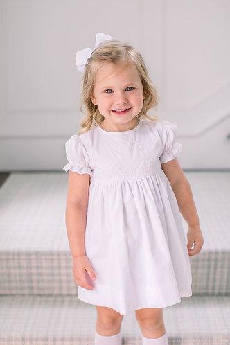 The Proper Peony Woodlawn White Dress