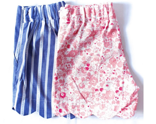 Peggy green Penelope short libba floral (right)