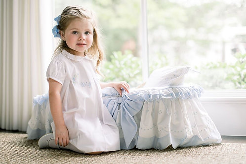 The Proper Peony Big Sister Dress / White