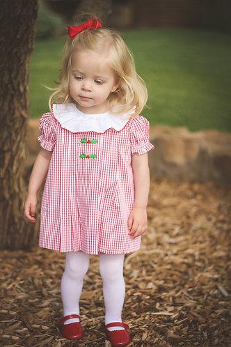 The Proper Peony Garnet Holly Dress