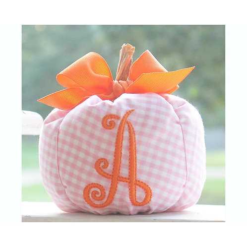 Storybook Goods Gingham Pumpkin