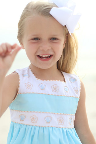 Christian Elizabeth Seaside Shell Dress