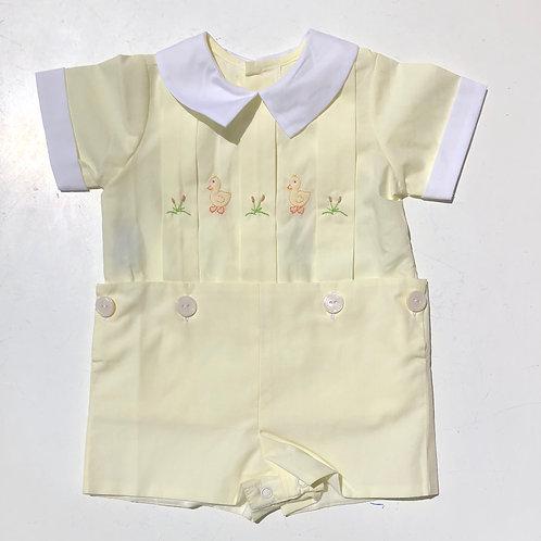Remember Nguyen - Duckie Button Short Set