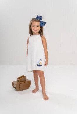 The Oaks Collins White Boat Dress