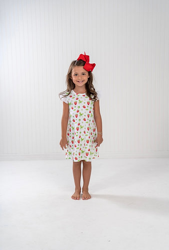 The OaksMary Kathryn Strawberry Dress