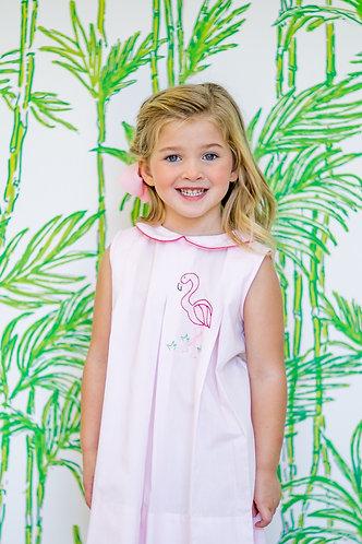 The Proper Peony Flamingo Dress