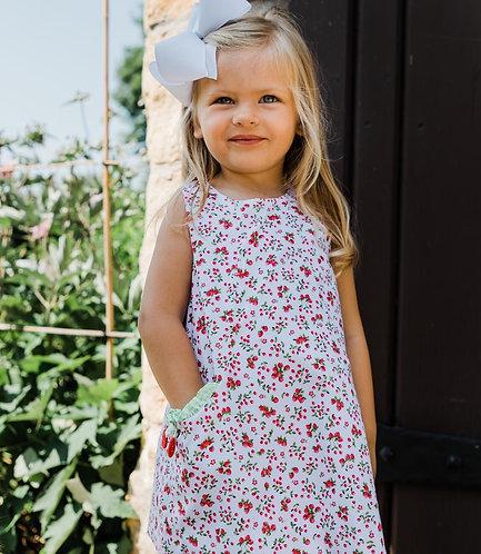 Florence Eiseman cherries dress