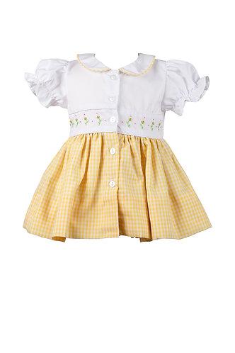 The Proper Peony Daphne Yellow Dress
