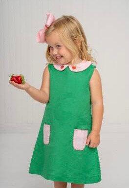 The Oaks Virginia Green Strawberry Dress