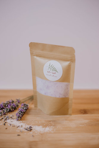 Peppermint Lavender Bath Soak