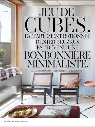 Marie Claire Maison, octobre 2019.