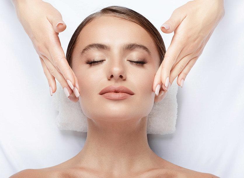 Women getting facial | Enhanced Beauty Aesthetics