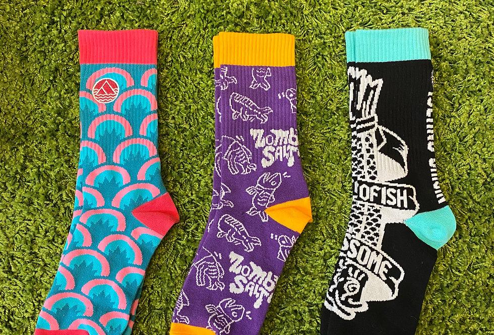 鹹魚乜乜襪襪Salted Socks
