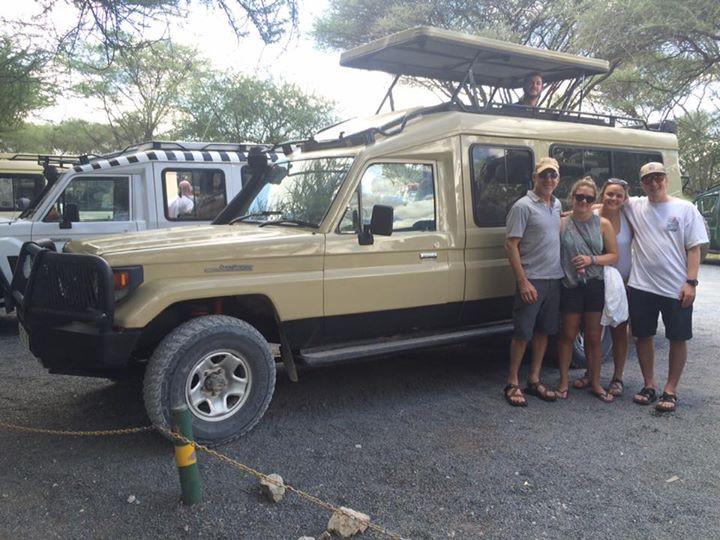 We are at Tarangire National Park ready