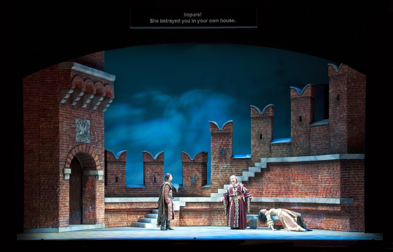 L'amore dei tre re (Act 2)