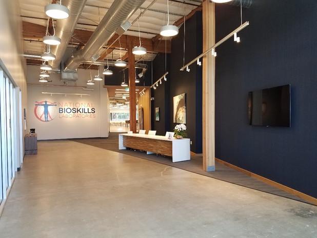 National Bioskills Laboratories - Lobby