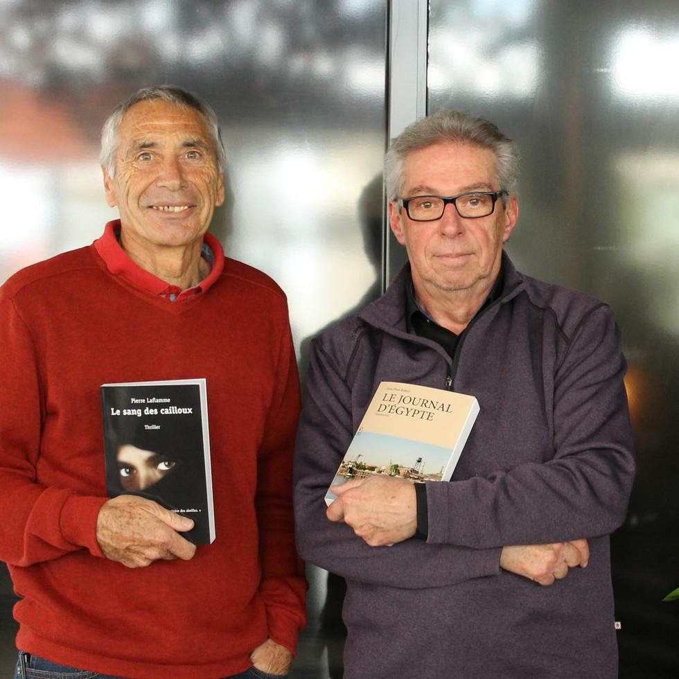 Avec Jean Paul Robert auteur.