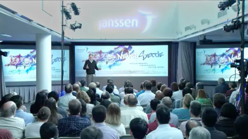 Janssen Webcast event