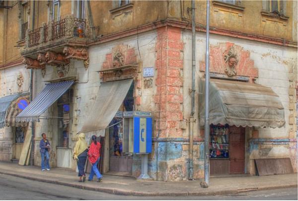 rue d'Asmara capitale d'Érythrée