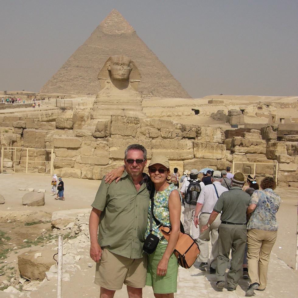 Micheline & Pierre  Égypte 2007.