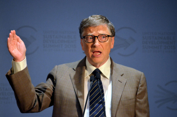 Bill Gates UN webcast