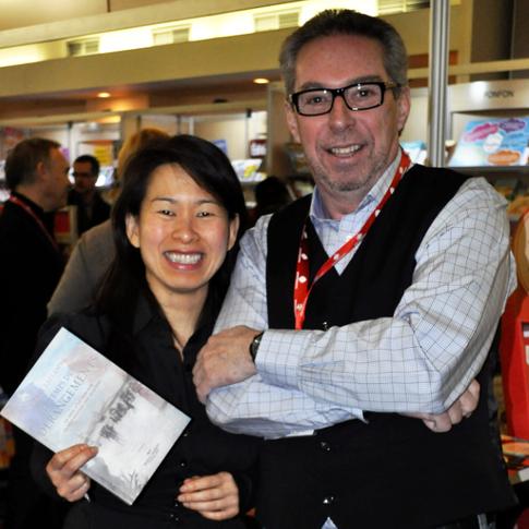 Avec Kim Thuy Salon du livre de Trois-Rivières 2013