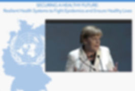 Stratosphere Webcasting of Angela Merkel International webcast UN