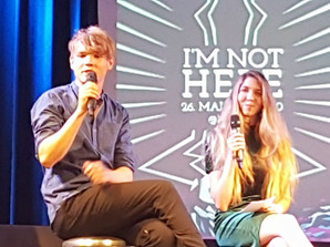 I'm not here Premiere