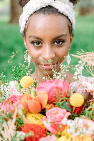 Bouquet de mariée peps Paris