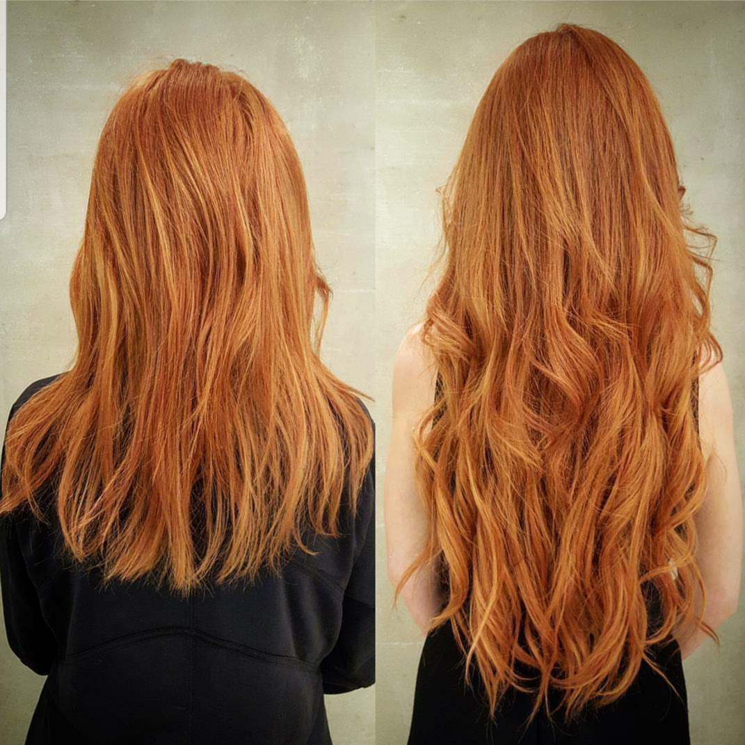 Hair Extensions wavy back