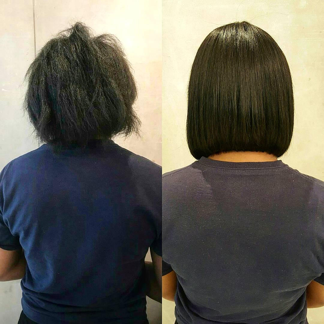 Hair extensions short back