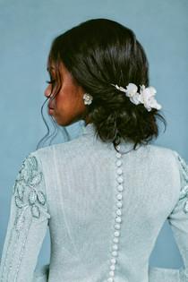 Bridal Hair Back