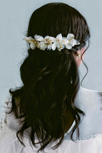 Bridal Hair back