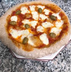 Pizza aus PureGrain Schäl-Vollkornmehl