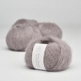 Silk Mohair nr 44 Støvet lavendel