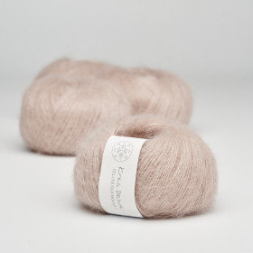 Silk Mohair. nr. 07 Pudder rosa