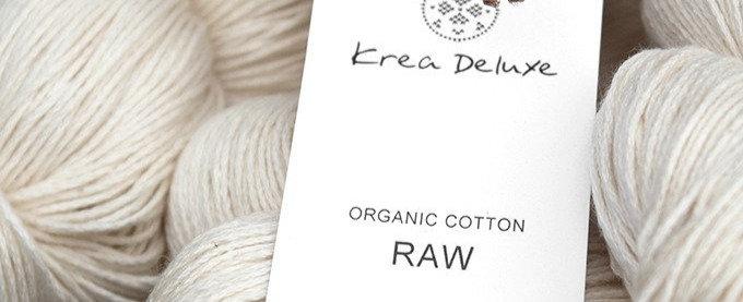 Raw organisk Bomuld 100g