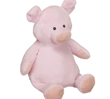 Lyserød gris